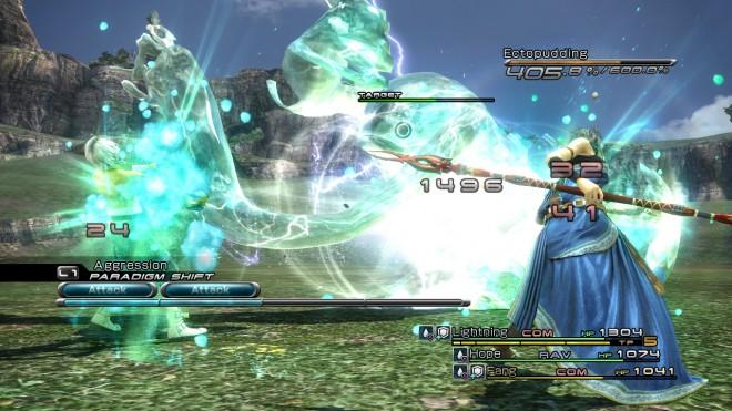 FFXIII-English Fang Battle
