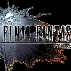 <i>Final Fantasy XV</i> logo.