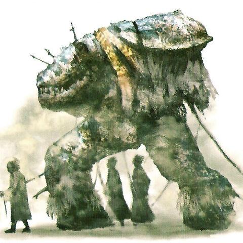 Concept artwork of a Slaven.