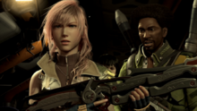 Lightning Sazh&Purgees