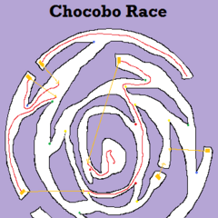Chocobo racing map (4 chests).