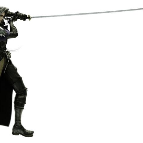 Full Image of Sephiroths CG Model