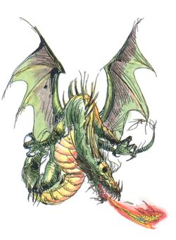 Amano Dragon FFII (color)
