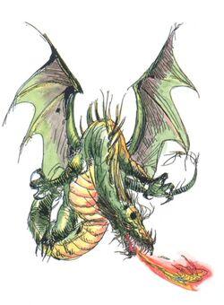 Amano Dragon FFII (color)