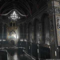 Concept art for <i>Kingsglaive</i>.