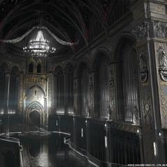 Концепт-арт для <i>Kingsglaive</i>.