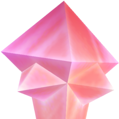 The Crystal of Crystal World as shown in <i>Dissidia</i>.