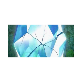 The Crystal Core shattering.