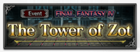 FFBE Event The Tower of Zot