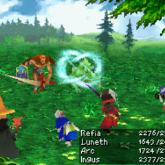 Wind: Wind Slash (DS).