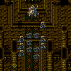 Odin using Zantetsuken in the Ancient Castle in <i><a href=