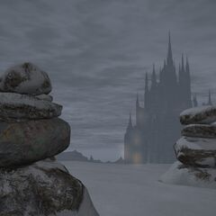 Stone with Halone's symbol <i>Final Fantasy XIV</i>.