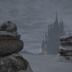 Perdra de Halone em <i>Final Fantasy XIV</i>.