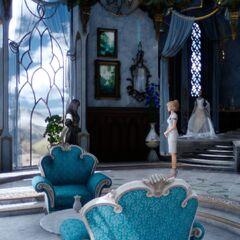 Комната Лунафрейи в поместье Фенестала.