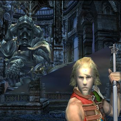 An extra scene plays if Basch is in the battle party.