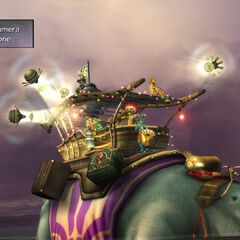 Gullwings in the show in <i>Final Fantasy X-2</i>.