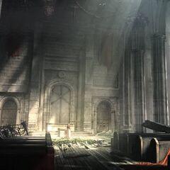 Sector 5 Slums Church.