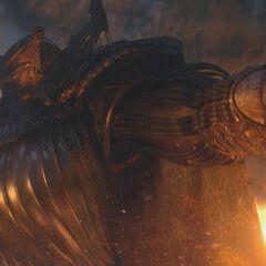 Оракул из Старой Стены в <i>Kingsglaive: Final Fantasy XV</i>.