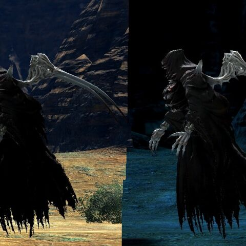 Bestial Ascians in the original <i>Final Fantasy XIV</i>.