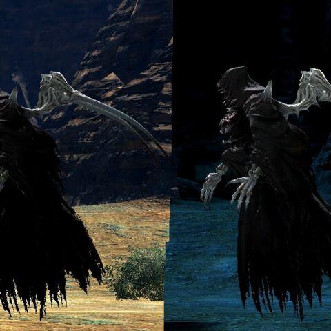 Ascians bestiais no <i>Final Fantasy XIV</i> 1.0.