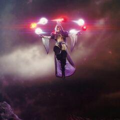FMV still of Kuja from <i>Dissidia Finla Fantasy NT</i> opening cinematic.