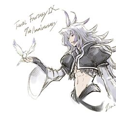 Artwork for the 17th anniversary of <i>Final Fantasy IX</i>