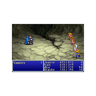 The battle from <i>Dawn of Souls</i>.