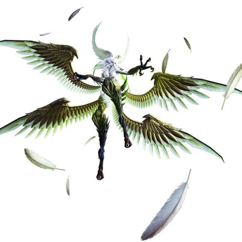 Garuda's in-game model.