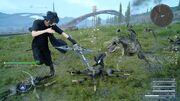 Noctis Cross shuriken