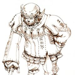 Promotional artwork of the Beastmaster by Yuzuki Ikeda.
