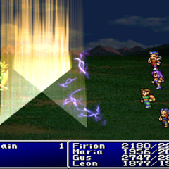 Bolt6 cast on the enemy party in <i><a href=
