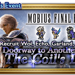 Global event banner for The Coil's Light.