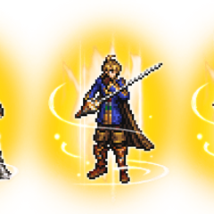 Ultimate+ Vaan, Ramza, & Bartz.