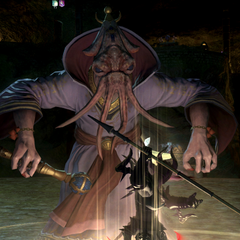 A mindflayer in the <i>A Realm Reborn</i> alpha.