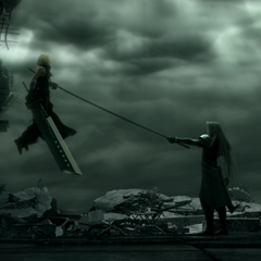 Отсылка в <i>Final Fantasy Advent Children Complete</i>.