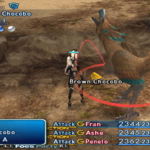 Brown Chocobo (Final Fantasy XII) | Final Fantasy Wiki