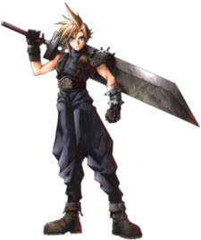Cloud Strife Art