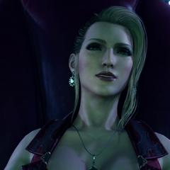 Скарлет с удовольствием наблюдает за обработкой Материи в <i>Final Fantasy VII Remake</i>.