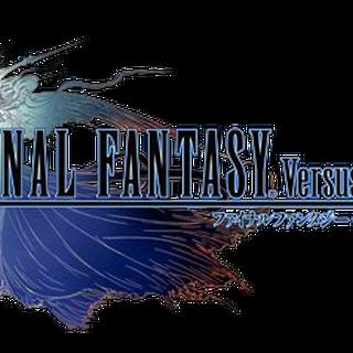 Logo de <i>Final Fantasy Versus XIII</i>.