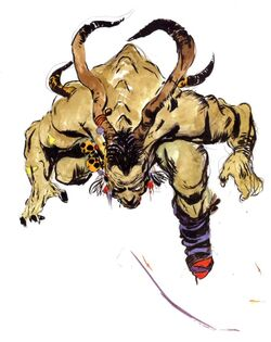 Ifrit (artwork Amano)
