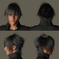 Модель лица персонажа