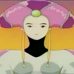 Queen Lenna in the anime.
