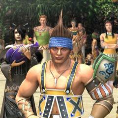 Wakka, Lulu e Vidina no final FMV de <i>Final Fantasy X-2</i>.