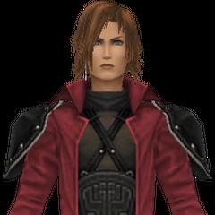 Modelo em <i>Crisis Core -Final Fantasy VII-</i>.