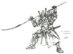 Gilgamesh FFV Art
