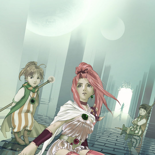 Young Palom in the promotional artwork for Porom's Tale.