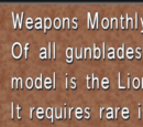 Weapons Monthly