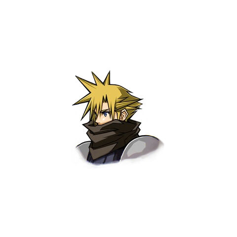 Cloud in <i>Before Crisis -Final Fantasy VII-</i>.