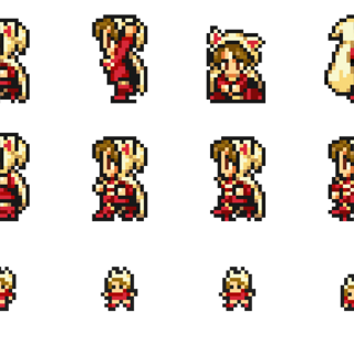 Sprites of the Devout.