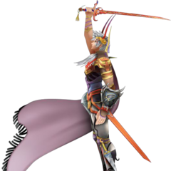 Firion's second alt outfit in <i>Dissidia 012 Final Fantasy</i>, based on Amano's artwork.